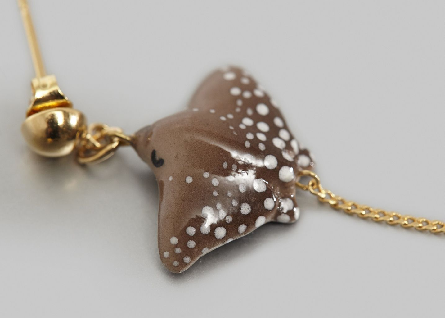 Spotted Ray Earrings - Nach