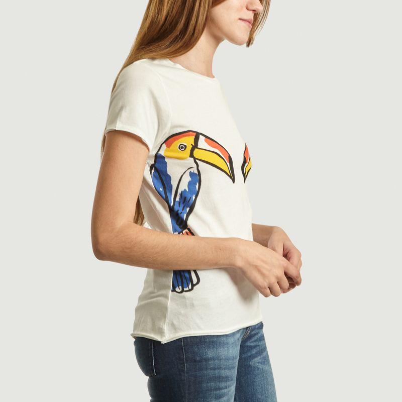 T-Shirt En Coton Bio Toucan Nach x Castelbajac - Nach