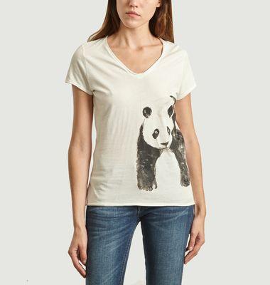 T-Shirt En Coton Bio Baby Panda