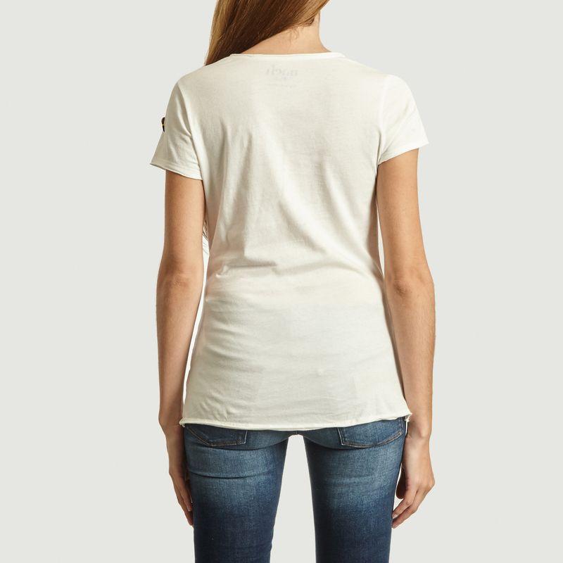 T-Shirt En Coton Bio Imprimé Rabbit - Nach