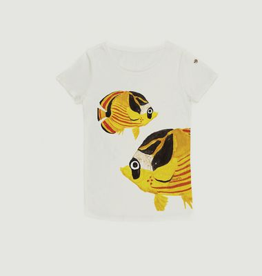 Tshirt Butterfly Fish
