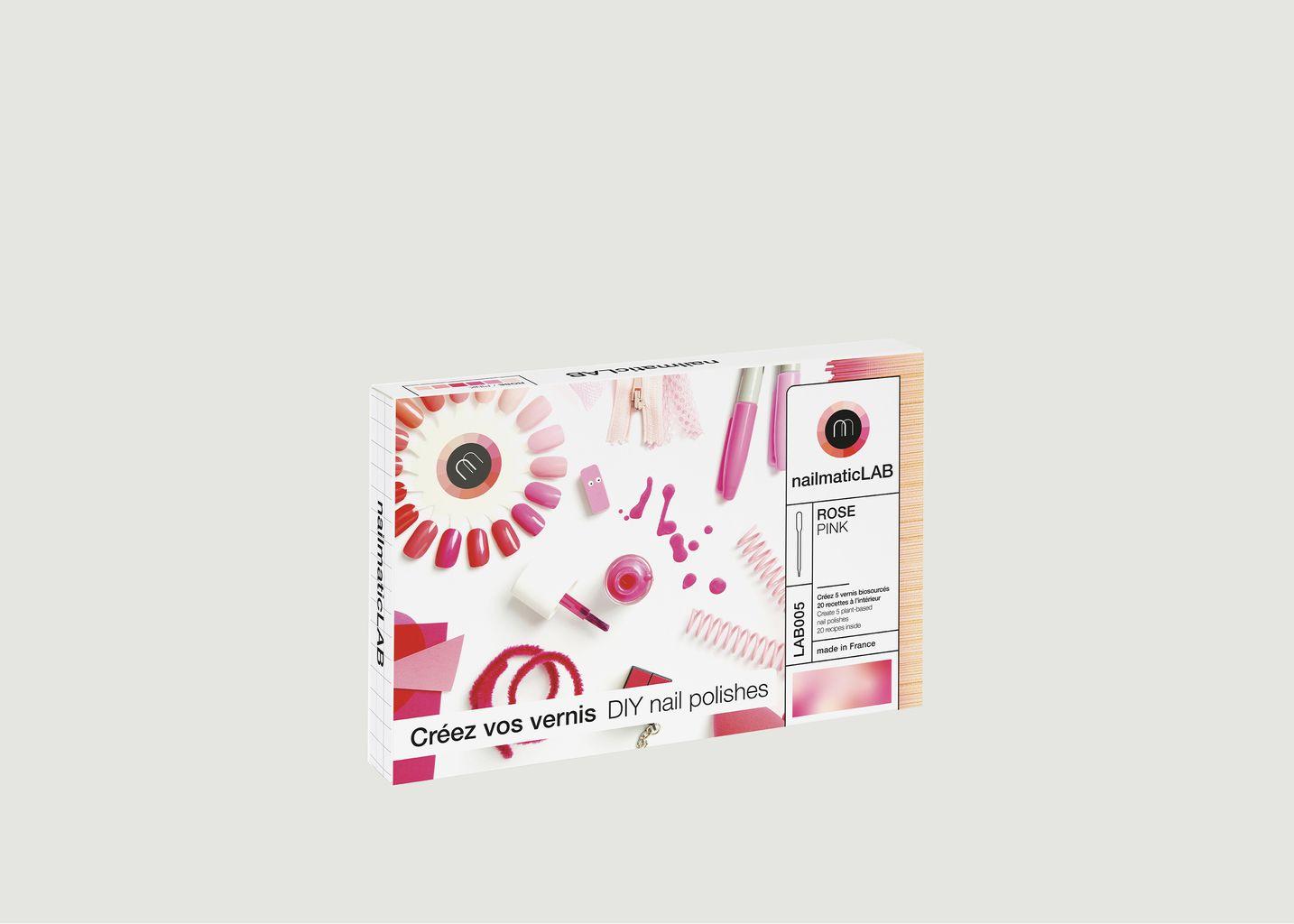 Kit DIY vernis roses Nailmatic Lab - nailmatic