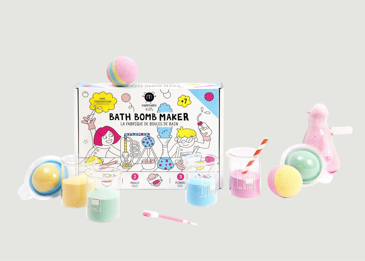 Kit fabrique de boules de bain - nailmatic