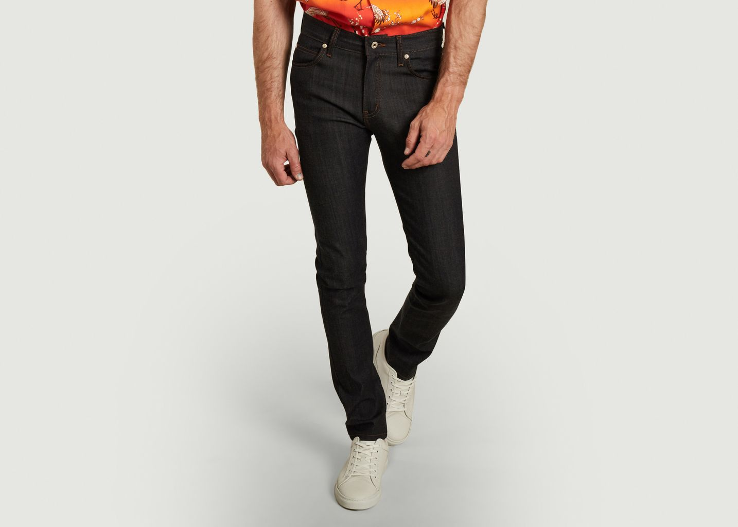 Jean Super Guy Whisper Stretch Denim - Naked and Famous