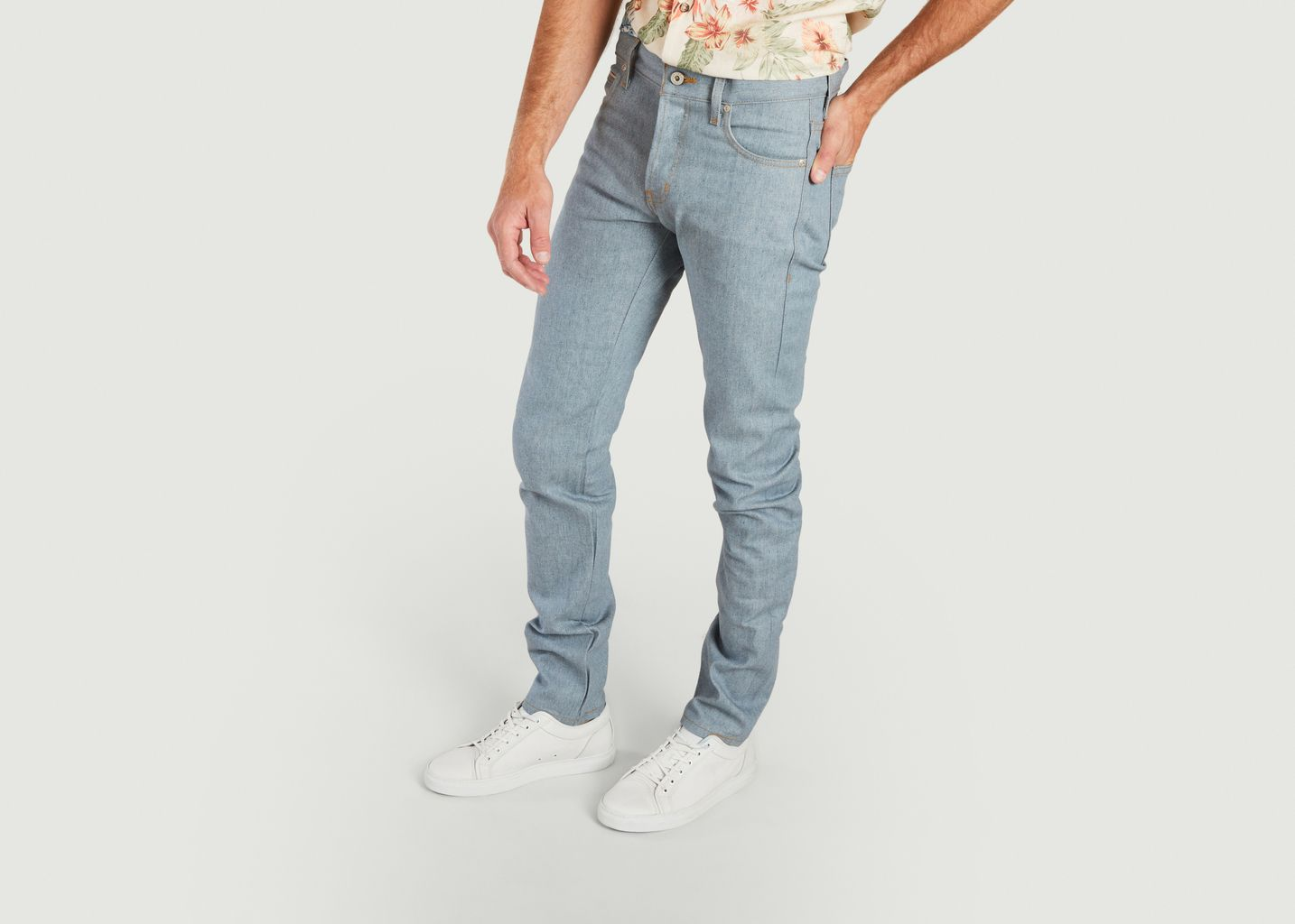 Super Guy - Recycled Selvedge - Stone Blue - Naked and Famous
