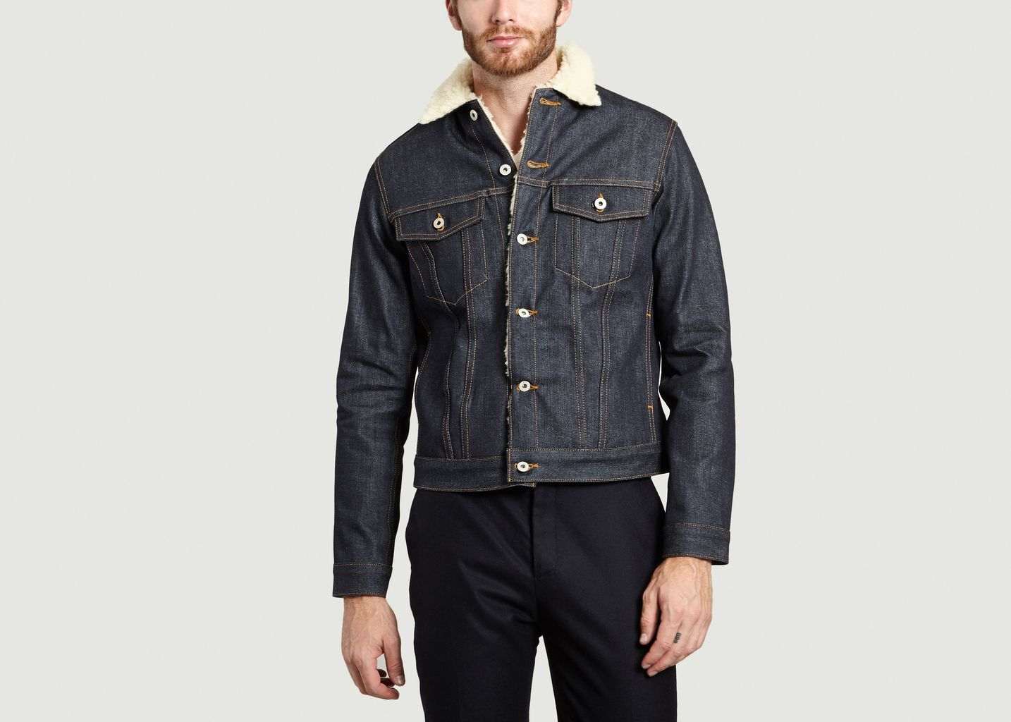 Veste Denim Japonais - Naked and Famous