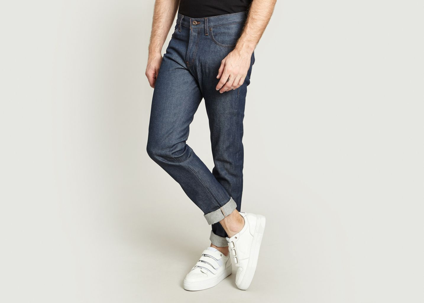 Jean Weird Guy Natural Selvedge - Naked and Famous
