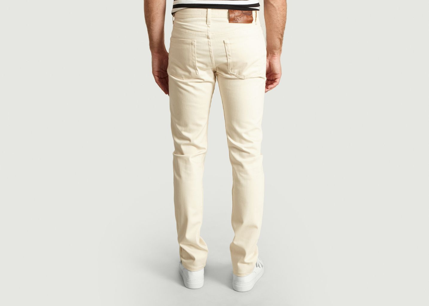 Jean Weird Guy Natural Seed - Naked and Famous
