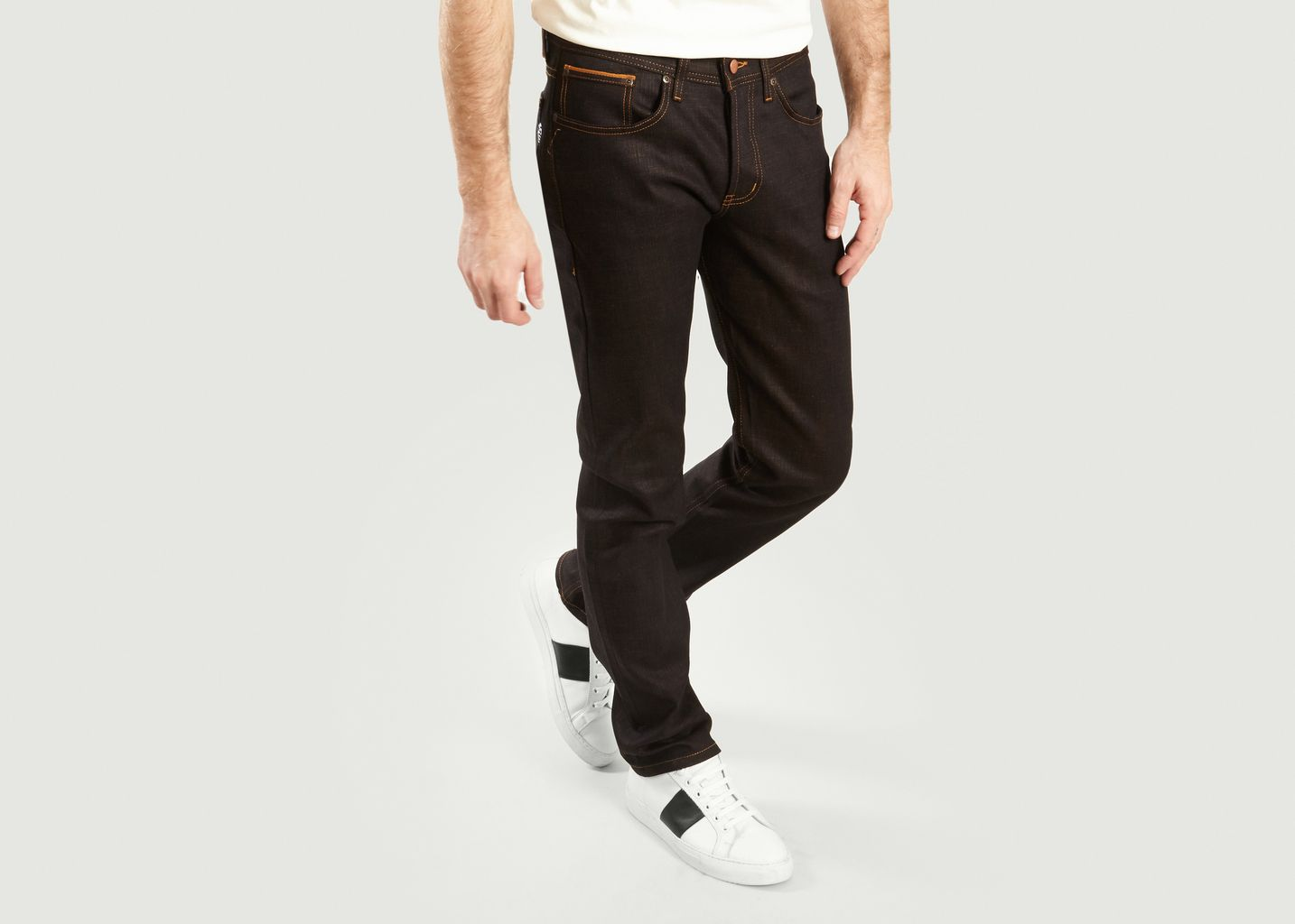 Jean Tapered Goku Super Sayian Selvedge Weird Guy  - Naked and Famous