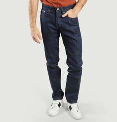 Jean Kasuri Weird Guy Selvedge