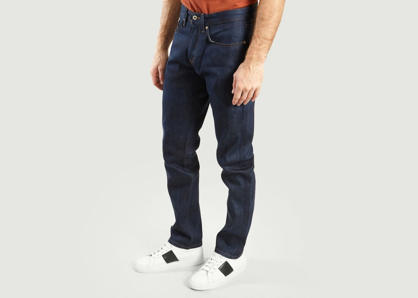 Jean Kasuri Weird Guy Selvedge - Naked and Famous
