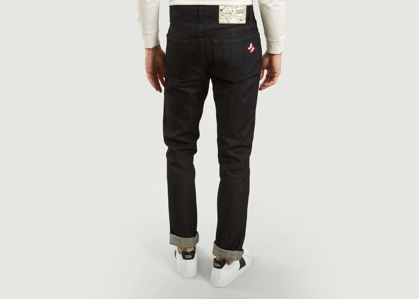Jean Supernatural Selvedge x Ghost Busters - Naked and Famous
