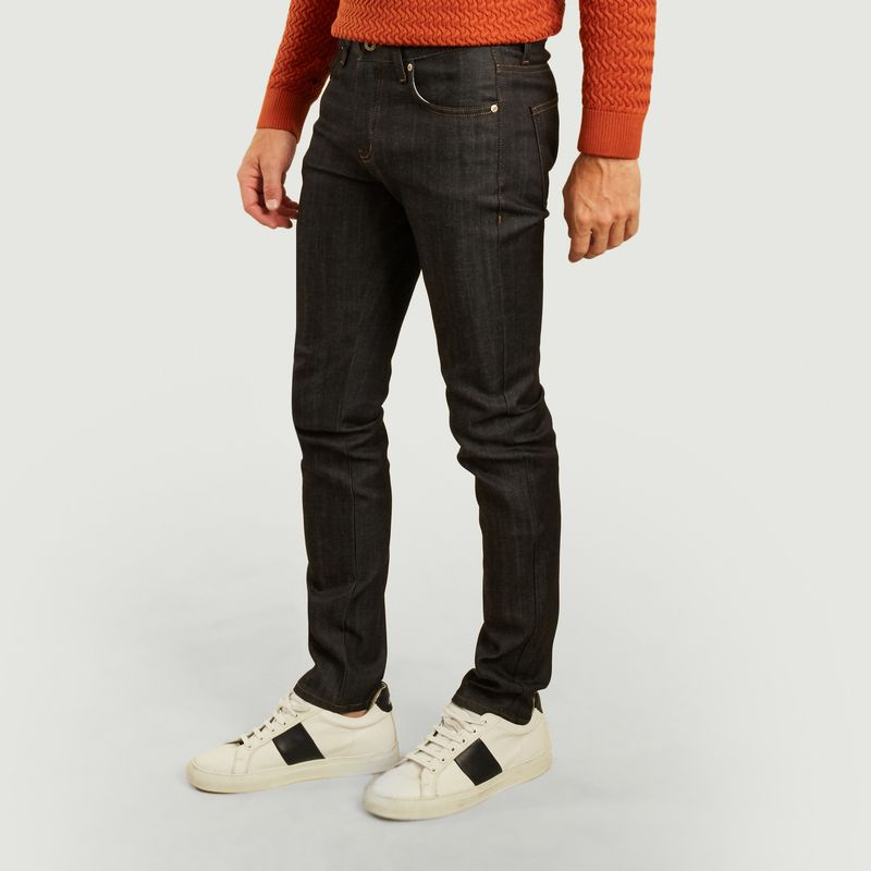 Jean super guy cachemire stretch blend denim - Naked and Famous