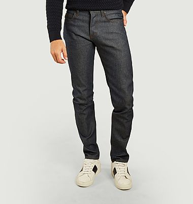 Jean super guy natural indigo selvedge