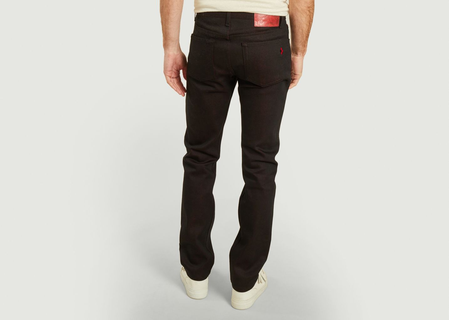 Jean tapered The Queen Of Chaos Selvedge N&F x Batman - Naked and Famous