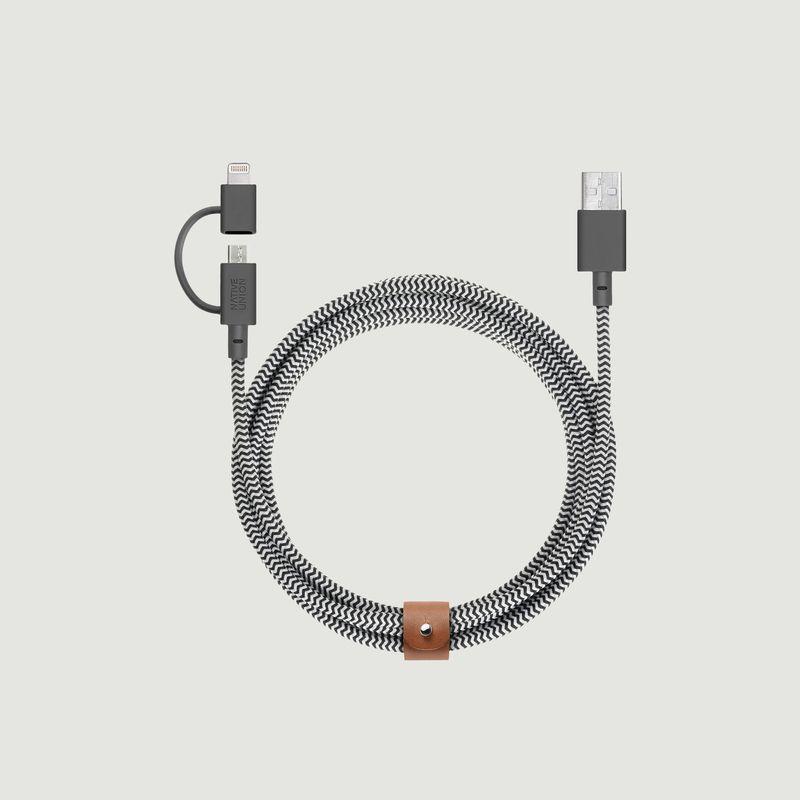 Belt Cable Double - Native Union