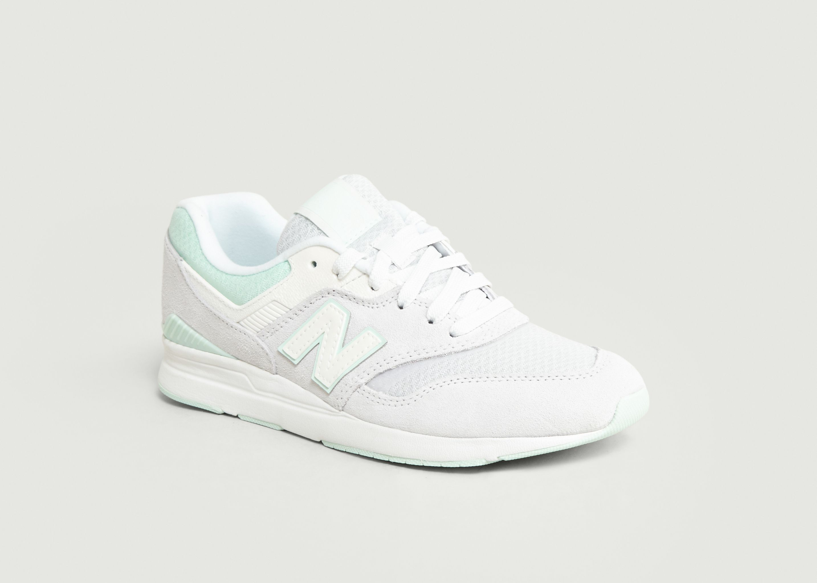 Sneakers Leather 697 Blanc New Balance | L'Exception