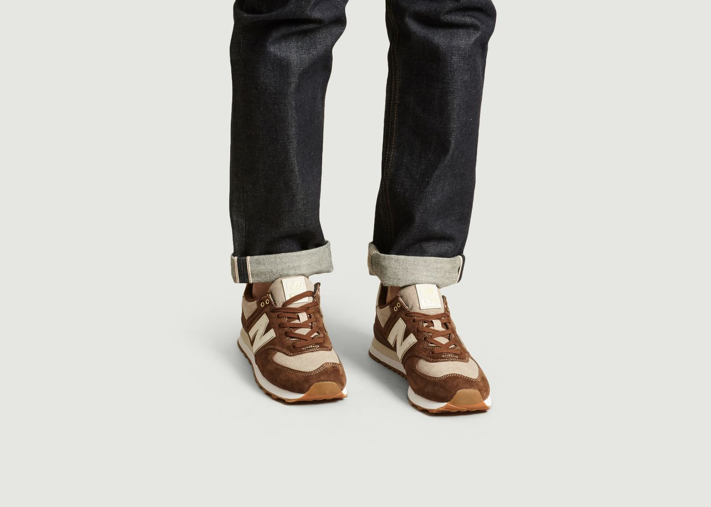 Sneakers Daim Et Tissu ML574 - New Balance