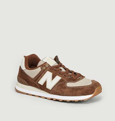 Sneakers Daim Et Tissu ML574