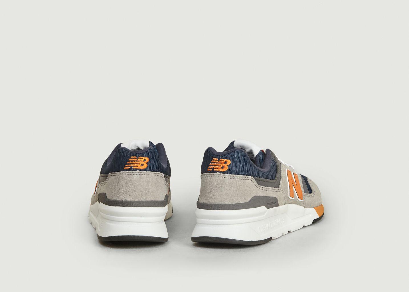 new balance 997h homme bleu orange
