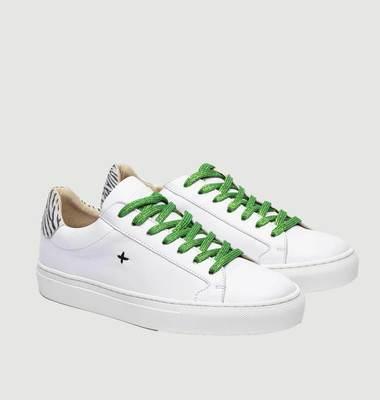 Sneakers NL08 zèbre