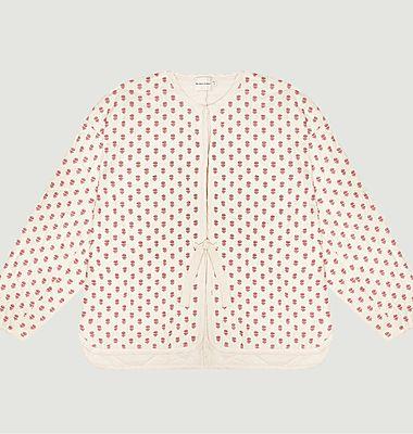 Enmanuelle fancy pattern padded jacket