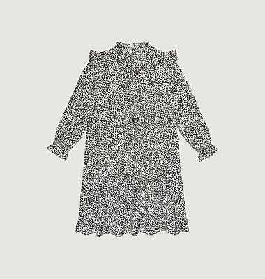 Gannin leopard pattern dress