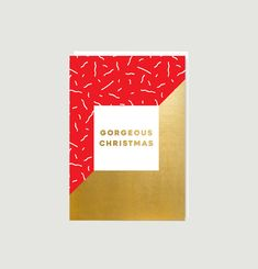 Carte Gorgeous Christmas