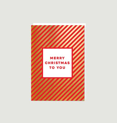 Carte Merry Christmas