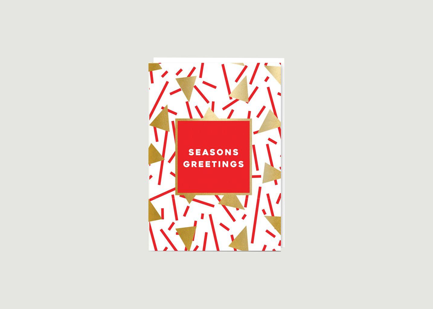 Carte Seasons Greetings - Nineteen Seventy Three