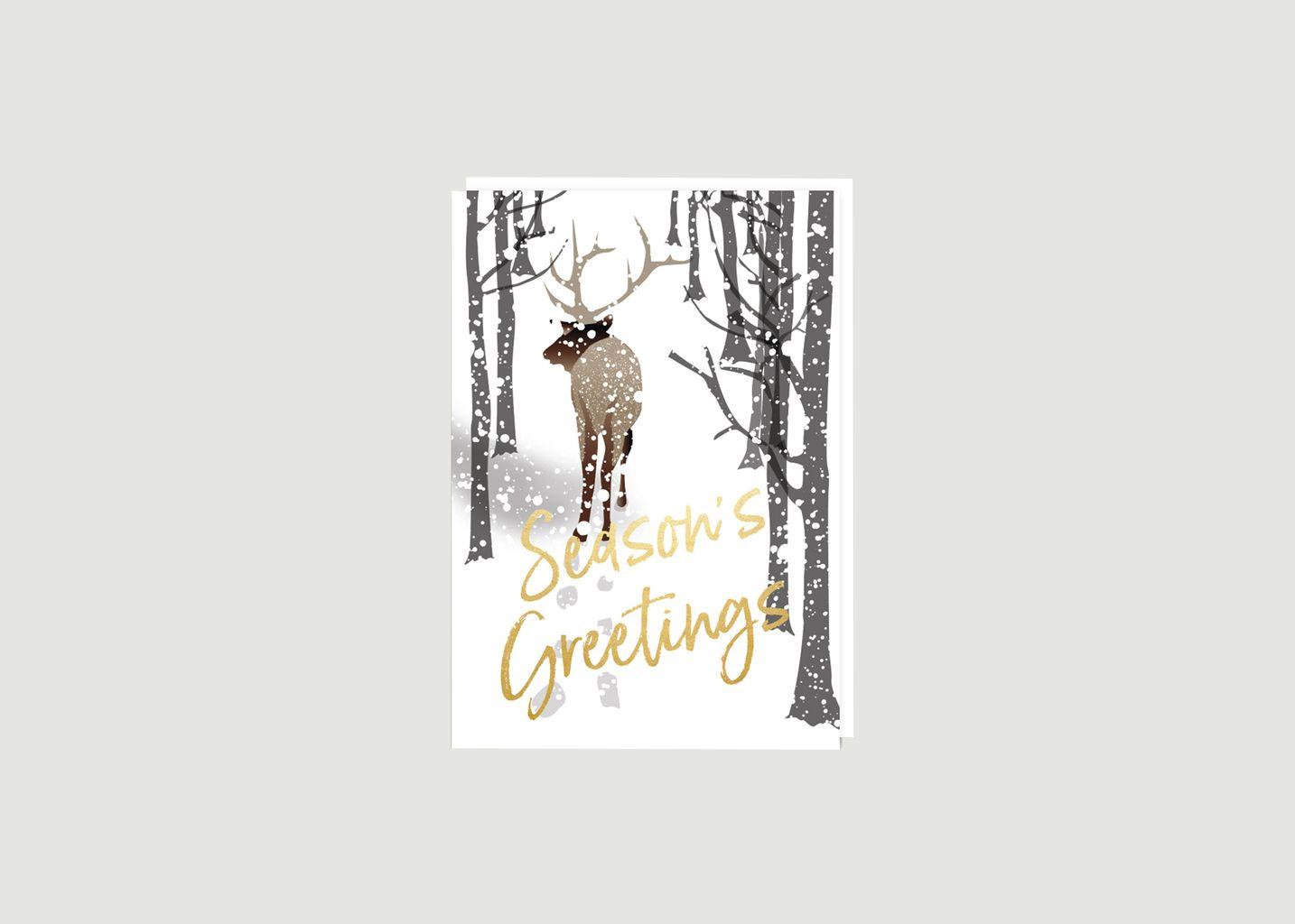 Carte Alpine Reindeer - Nineteen Seventy Three