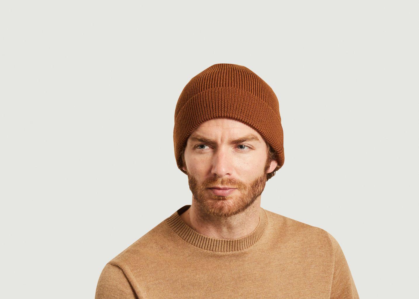 Bonnet Niko en laine mérinos - NN07