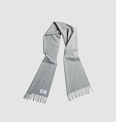 Two wool and cashmere scarf