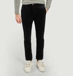 Pantalon Karl en velours