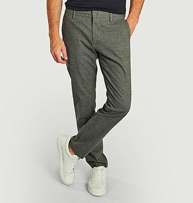 Pantalon chino coupe droite Theo