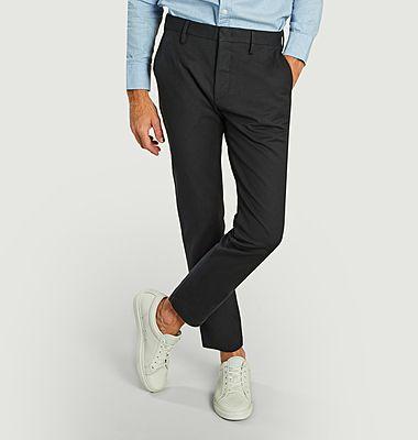Pantalon chino en coton bio Theo