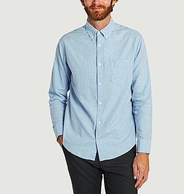 Chemise droite en coton Levon