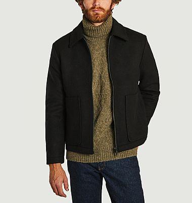 Veste zippée en lainage Gael