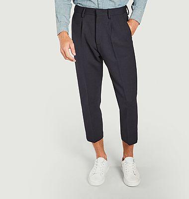 Pantalon coupe relax 7/8e Bill