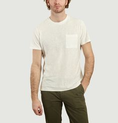 T-Shirt Aspen Flammé Egg White