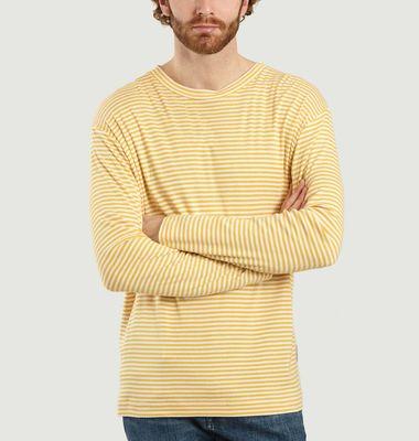 T-shirt manches longues Kurt rayé