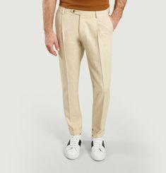 Pantalon Codo lin et coton