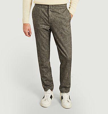 Pantalon texturé Fos