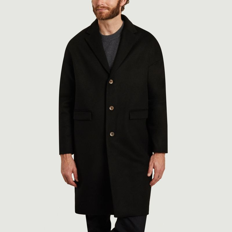 Manteau en laine et cachemire Genoa - noyoco