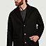 matière Manteau en laine et cachemire Genoa - noyoco