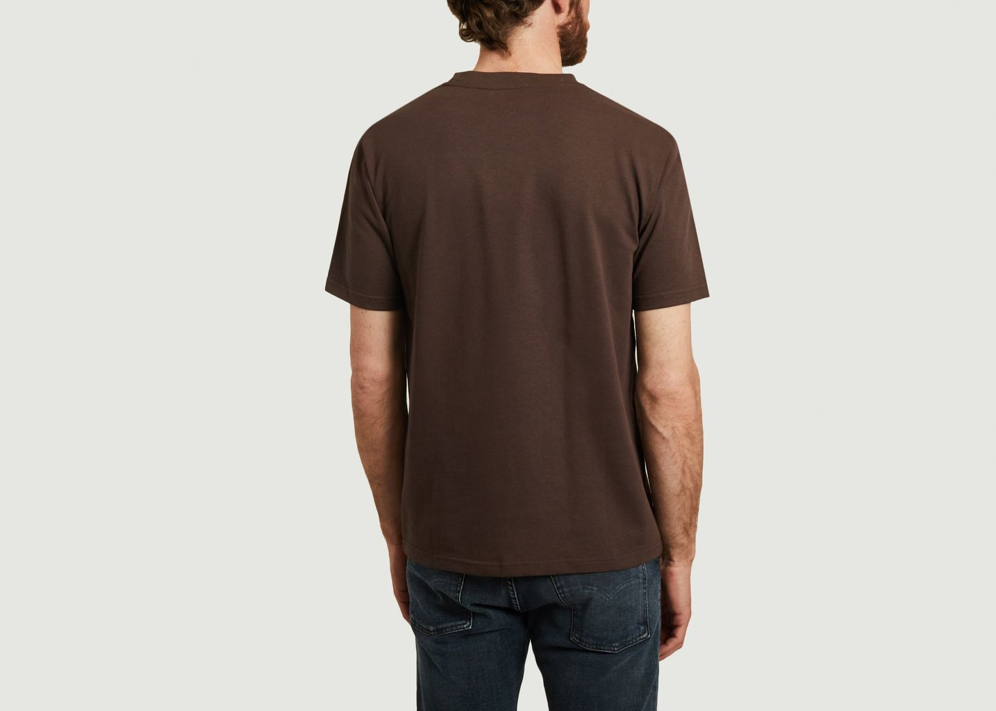 T-shirt en coton coupe boxy Johannes - Norse Projects