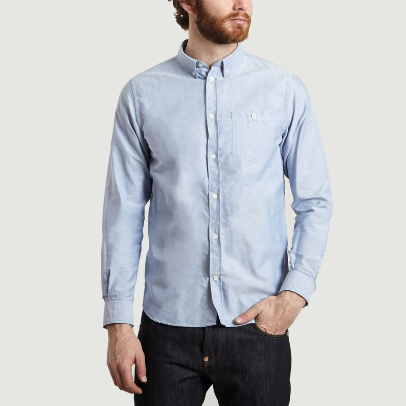 Chemise Coton Oxford Anton - Norse Projects