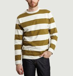 Tshirt Johannes Wide Stripes