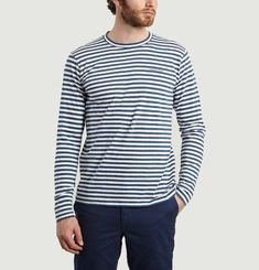 Tshirt James Logo Stripe