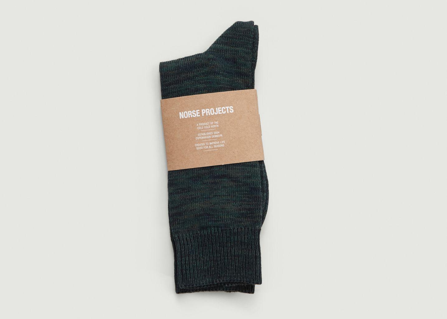 Chaussettes Chinées Bjarki Blend - Norse Projects
